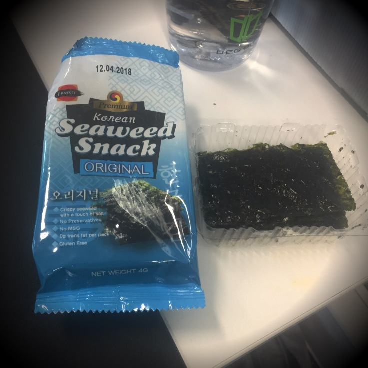 low carb, keto, korean seaweed snack