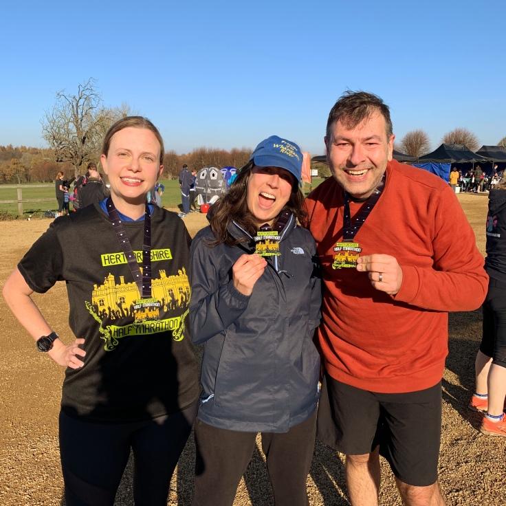 hertfordshire half medals 2018